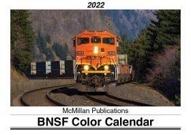 BNSF color calendar 2022
